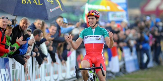 Marco Fontana_finish_130106_ITA_Roma_cyclocross_acrossthecountry_cx_by Pubblifoto