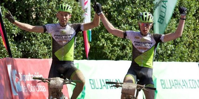 Litscher_Cink_Andalucia bike race_stage1_winners_acrossthecountry_mountainbike_xcm_by ABR