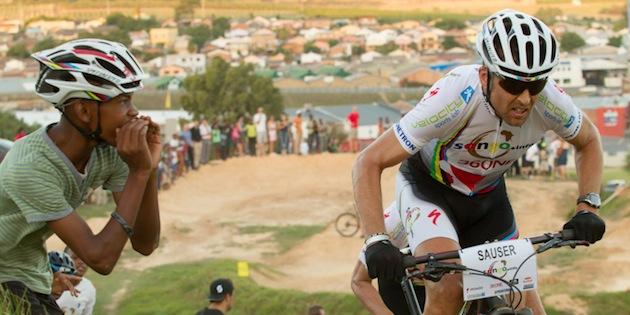 Christoph Sauser_kid_SONGO_Kayamandi Champions Race_acrossthecountry_mountainbike_xco_by Greg Beadle