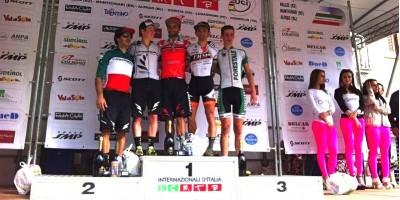 Fontana_Cooper_Fumic_Martinez_DBraidot_podium_montichiari_acrossthecountry_mountainbike_by Roeschl