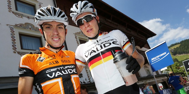 Winning_duo_Jochen_Kaess_Markus_Kaufmann_portrait_acrossthecountry_mountainbike_by Henning Angerer