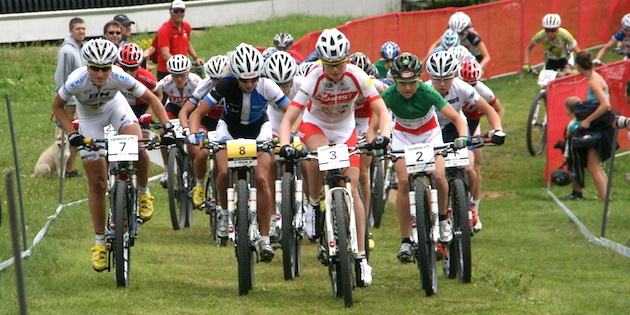 Start-Damen_Engen_Bresset_Neff_Lechner_WC13_MSA_women_acrossthecountry_mountainbike_by-Goller