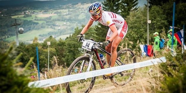 130914_NOR_Hafjell_XC_Women_Osl_fir-trees_acrossthecountry_mountainbike_by_Weschta