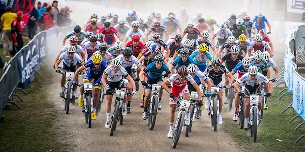 130914_NOR_Hafjell_XC_U23m_Start_U23_acrossthecountry_mountainbike_by_Maasewerd