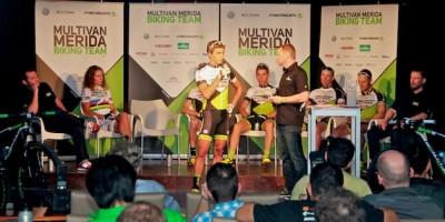 Julian Schelb_front_interview_Merida Mallorca_praesentation_buehne_acrossthecountry_mountainbike_by Goller