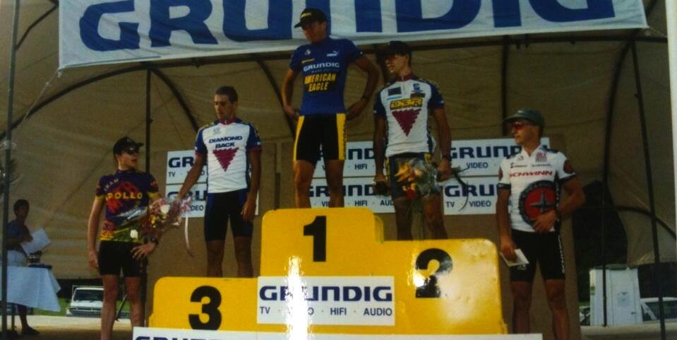 Weltcup Cairns_1994_Brentjens_Berner_Elsnic_Kloser_Evans_acrossthecountry_mountainbike_by Brentjens