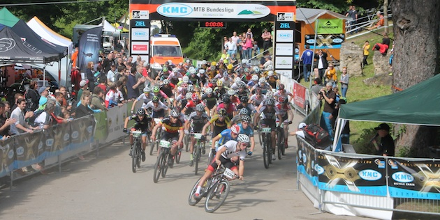 Start_u23Herren_Samuel-Gaze_heubach_acrossthecountry_mountainbike_by-Goller