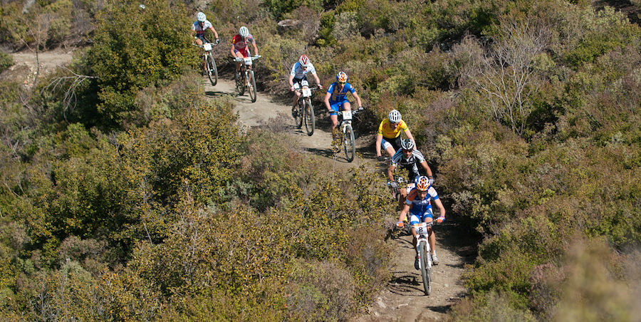 120225_CYP_Afxentia_Stage2_PointToPoint_LeadingGroup_Singletrail_frontal_acrossthecountry_mountainbike_by_Kuestenbrueck