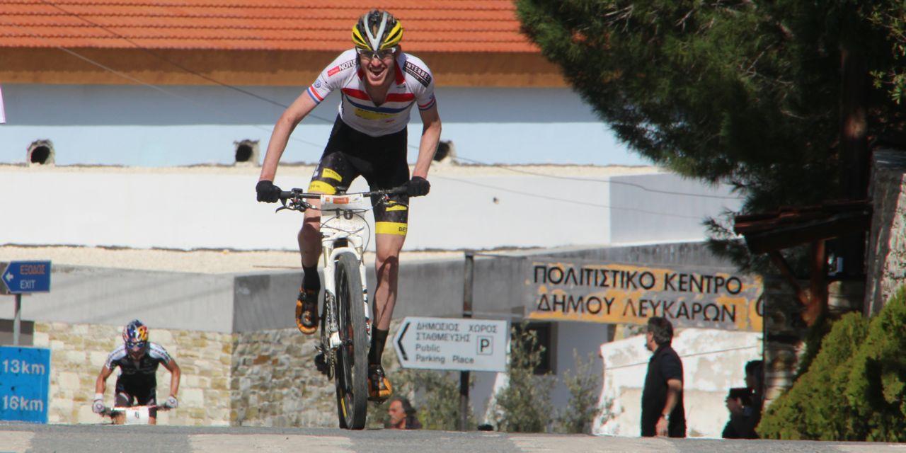Ferguson leads Avancini_finish_Afxentia stage2_finish_lefkara_by Goller