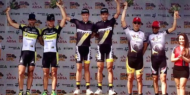 CE14_Etappe4_Podium_acrossthecountry_mountainbike_by-ABSA-Cape-Epic.