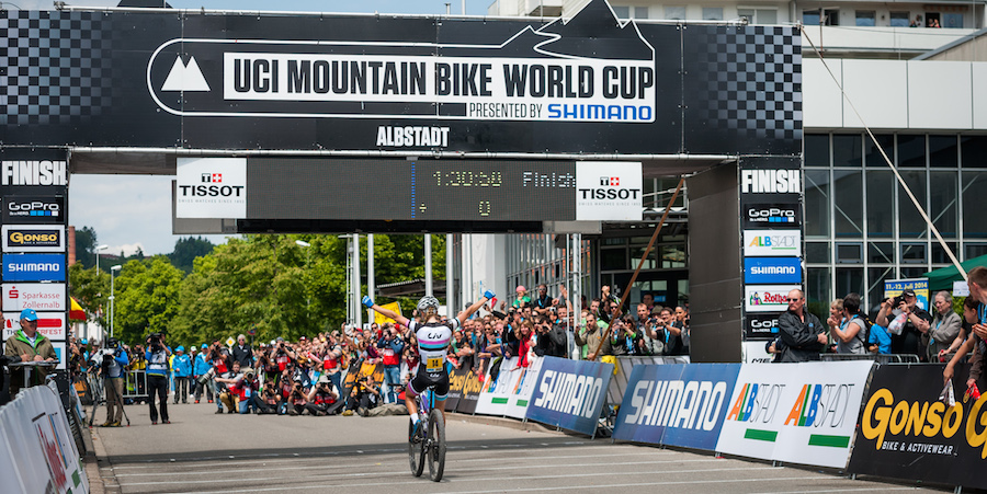 140601_8652_by_Dobslaff_GER_Albstadt_XC_WE_FerrandPrevot_acrossthecountry_mountainbike