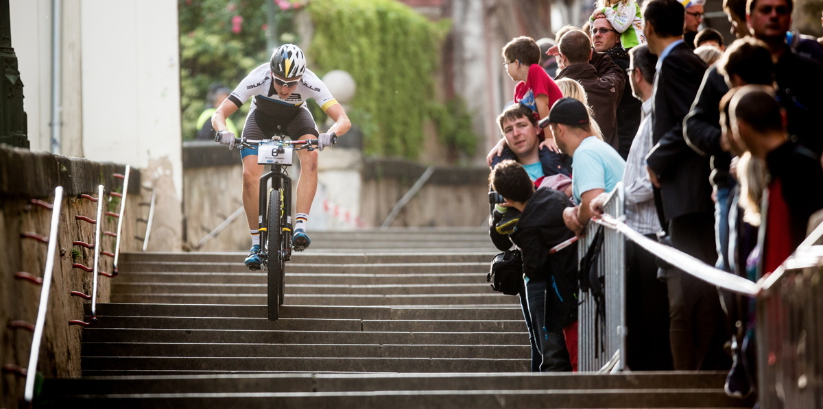 Simon Stiebjahn_prag stairs_acrossthecountry_mountainbike_by Cerveny
