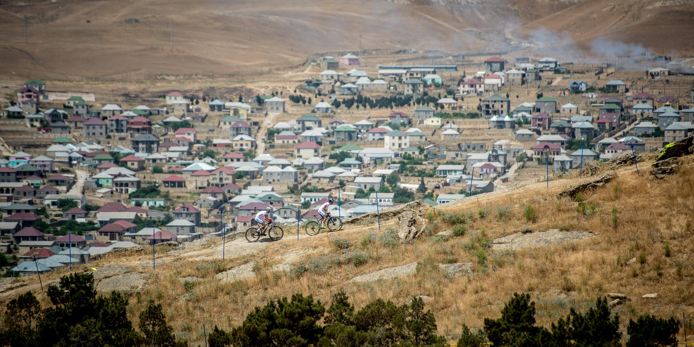 150611_acrossthecountry_mountainbike_by_Kuestenbrueck_AZE_Baku_TrackInspection_Fontana_Tiberi