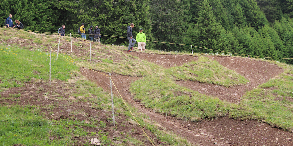 Ochsner Sport Dual Slalom_WC15_Strecke Lenzerheide