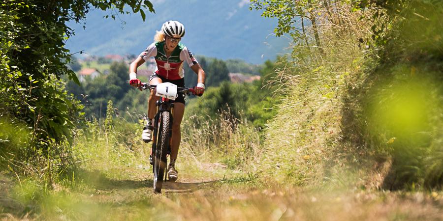 Jolanda Neff fährt erneut ohne Kokurrenz - diesemal zum Europameistertitel. Foto: Lynn Sigel