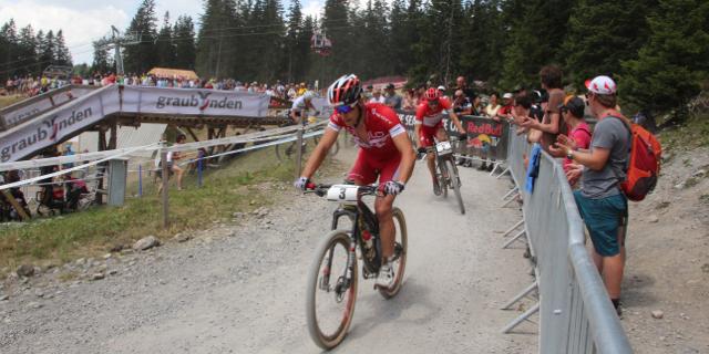 Schurter_Kulhavy_Absalon_acrossthecountry_mountainbike_WC15_Lenzerheide_Herren_by Golle