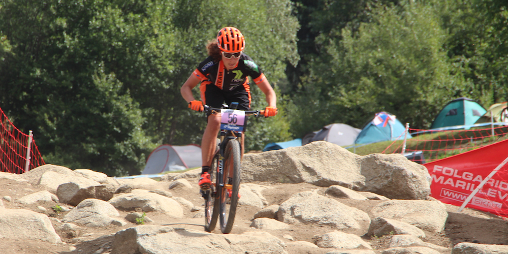 Elisabeth Brandau_acrossthecountry_mountainbike_WC15_ValdiSole_Training_by Goller