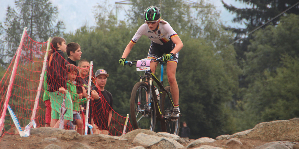 Majlen Mueller_acrossthecountry_mountainbike_WC15_ValdiSole_U23Damen_by Goller