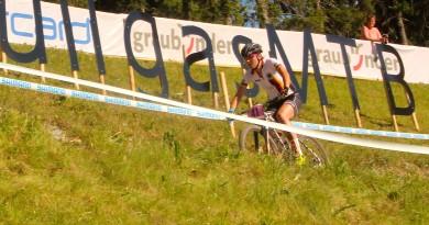 Einzige deutsche Starterin im U23-Rennen der Damen: Theresia Schwenk ©Erhard Goller