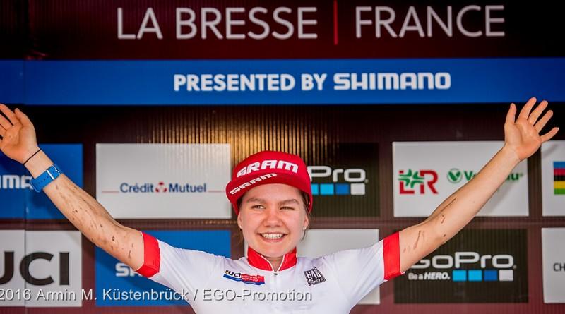 Bleibt wo sie ist: U23-Weltcupsiegerin Sina Frei ©Armin M. Küstenbrück/EGO-Promotion