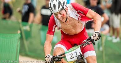Alexander Gehbauer bei seinem letzten großen Rennen: In Rio 2016 ©Armin M. Küstenbrück/EGO-Promotion