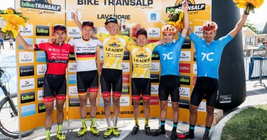 2017 BIKE Transalp powered by Sigma / Finish of 6th stage which led from Trento - Lavarone on July 21, 2017