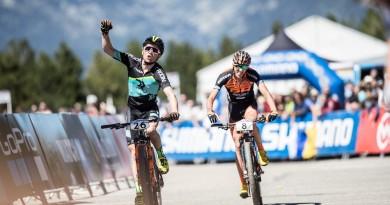 MFlueckiger_Sarrou_finish_worldcup_Andorra_finish_by Irmo Keizer