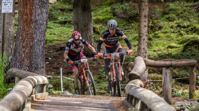Samuele Porro und Uwe Hochenwarter bildeten ein Spitzenduo ©Treviso MTB/Alessandro Billiani