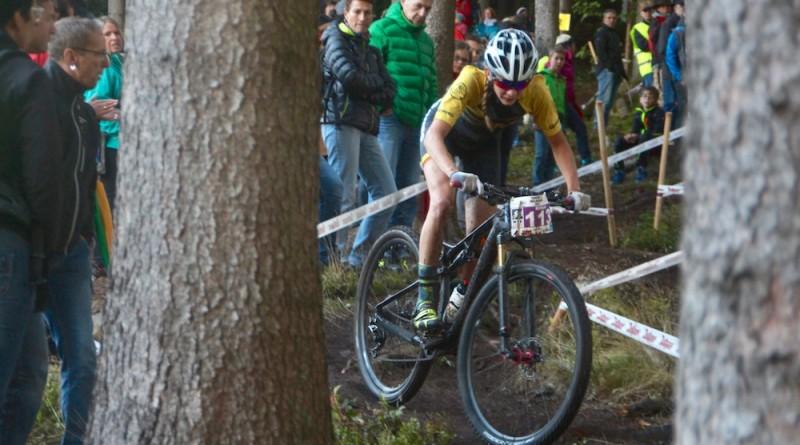 Bergauf und bergab eine famose Vorstellung: Ronja Eibl ©Erhard Goller