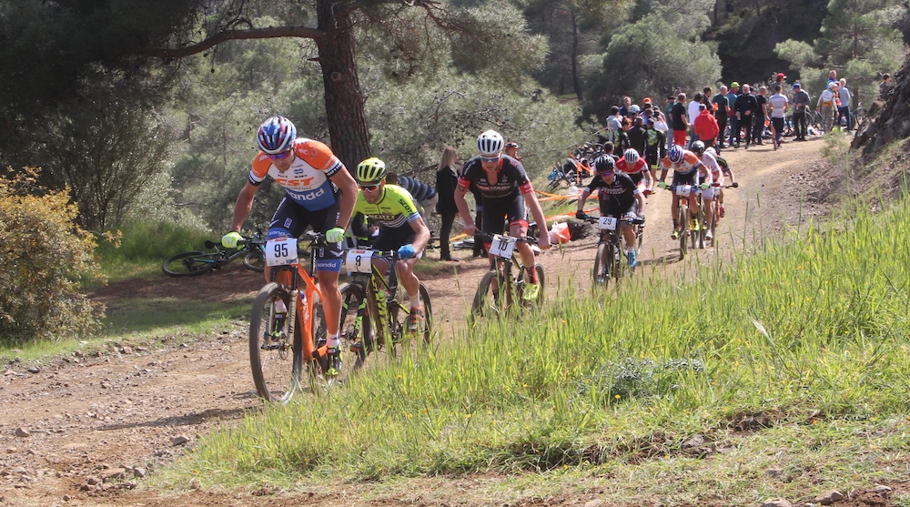 Blums_Antoniadis_Egger_Olsson_Men_XCO_CSC18_Afxentia_Stage4_by-Golle
