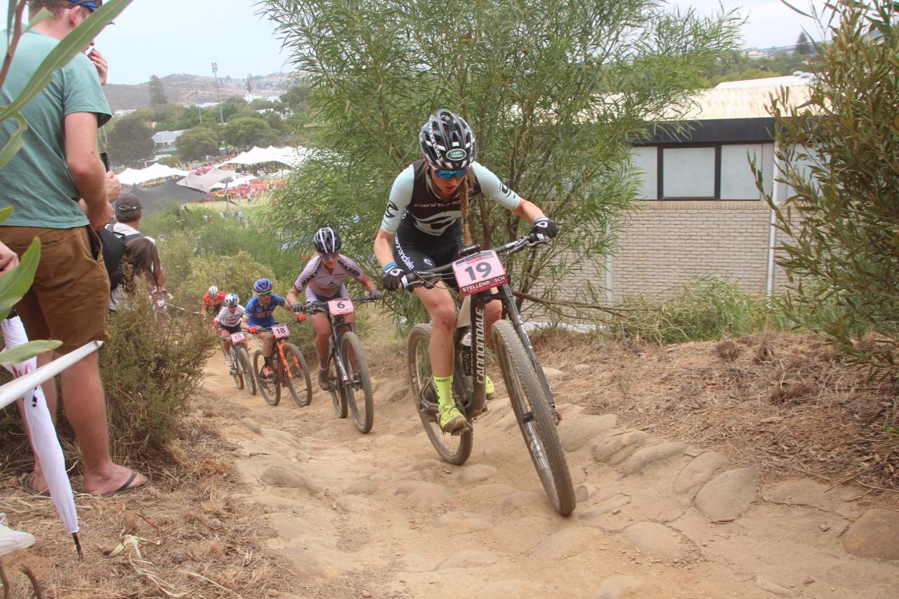 Helen Grobert - Weltcup in Stellenbosch, SA ©Erhard Goller