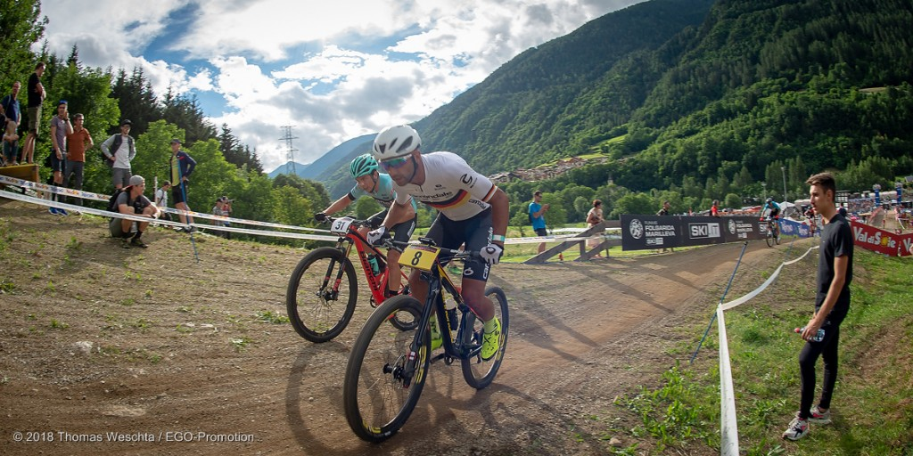 Short Track Val di Sole, Manuel Fumic © 2018 Thomas Weschta / EGO-Promotion