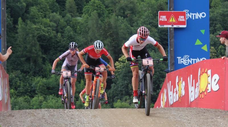 Short Track Val di Sole Dahle Flesjaa, Keller, Langvad ©Erhard Goller