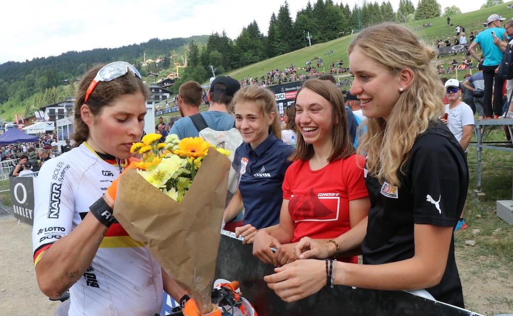 Brandau_Eibl_Ames_Daubermann_flowers_WC19_LesGets_Short-Track_by-Goller.