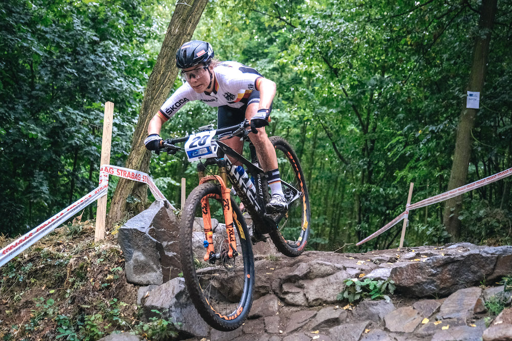 Kim Ames_downhill_EM19_Bruenn_XCO_u23 women_by Traian Olinici_