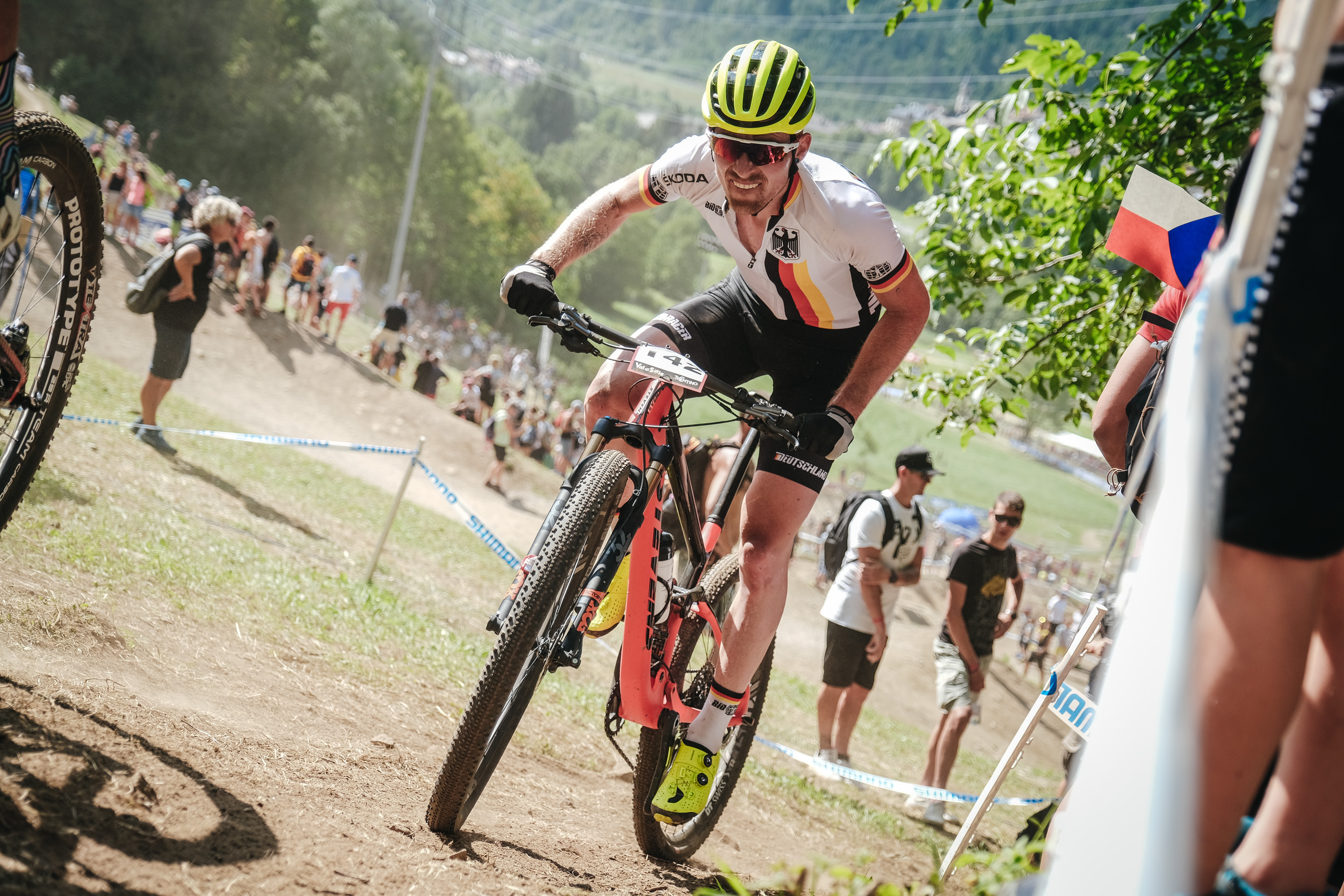 Christian Pfaeffle_fighting_WC19_Val di Sole_men_by Traian Olinici