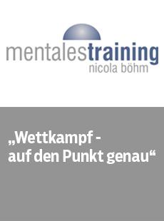 Mentales Training Nicola Böhm