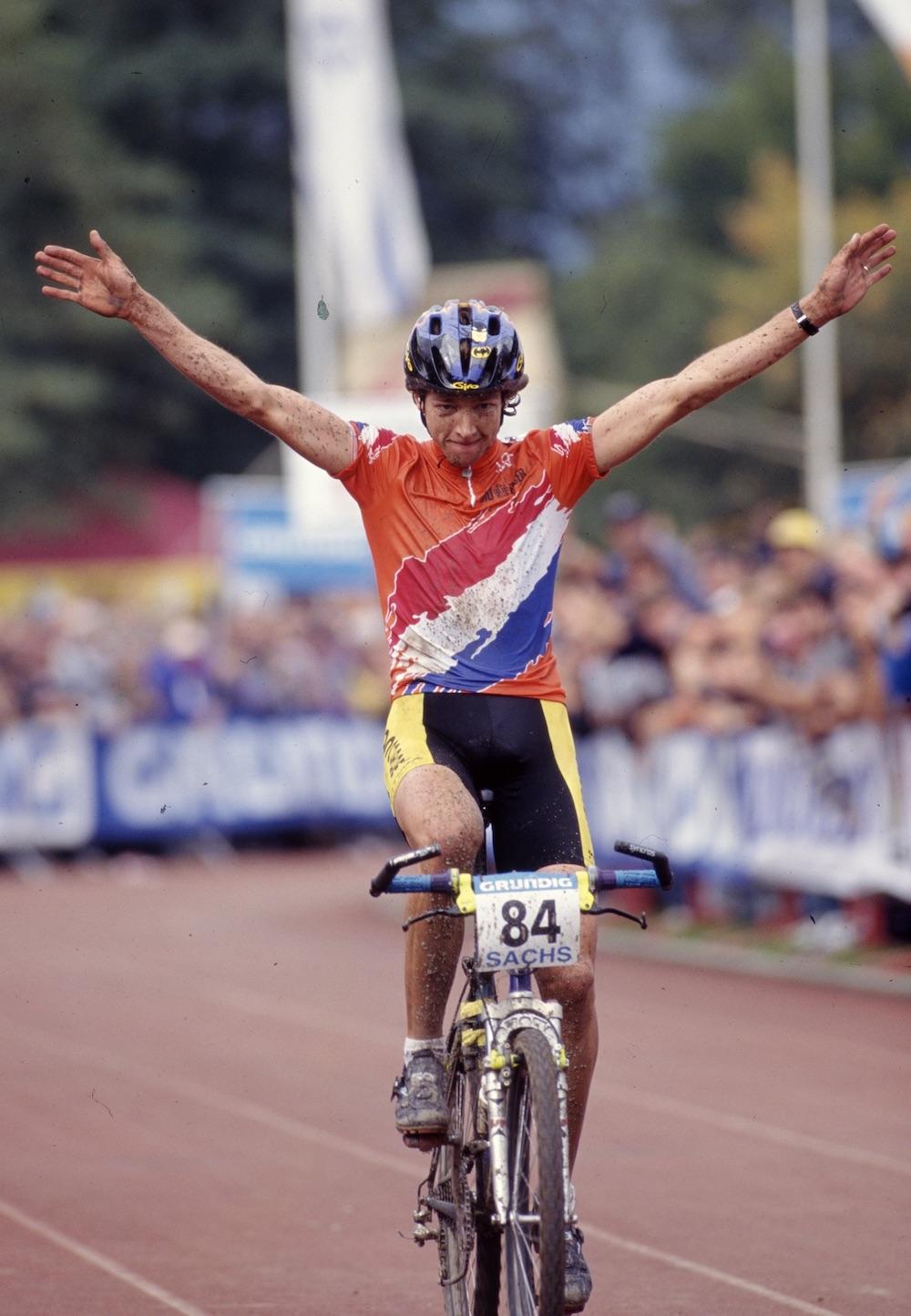Bart Brentjens Finish WM 1995 Kirchzarten