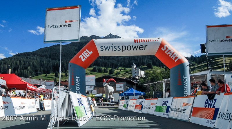 Zielbereich Swisspower Cup Savognin 2007