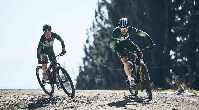 Martin Gluth und Felicitas Geiger fahren jetzt im gleichen Team wie AthletInnen auf Bahn und Straße. Foto: Urs Golling.