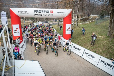 Start zum Proffix Swiss Bike Cup 2018