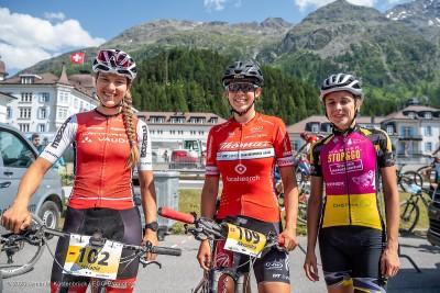 Die ersten drei Frauen: Stefanie Dohrn, Alessandra Keller, Steffi Häberlin