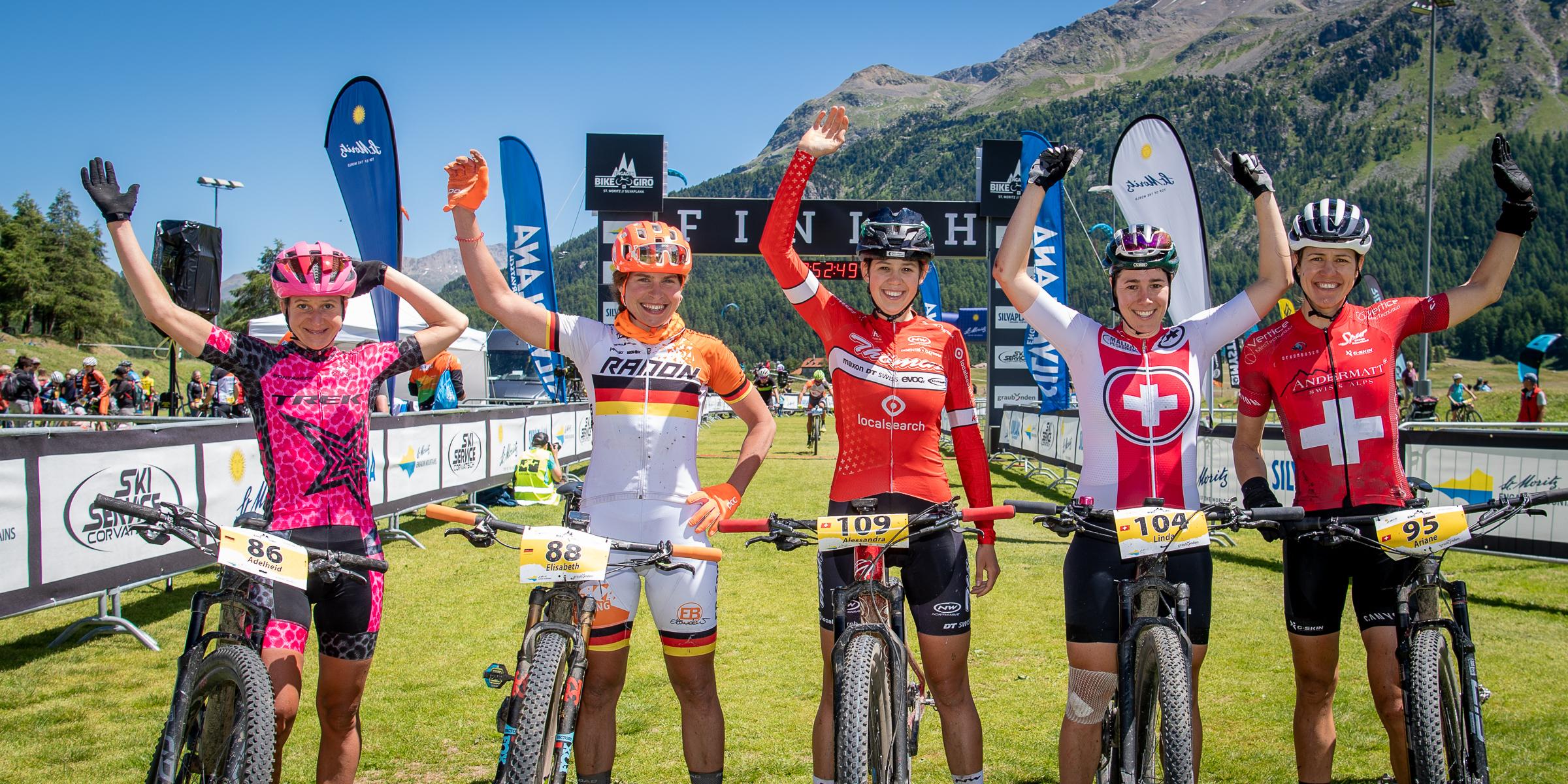 Finale am Kite-Beach: Keller und Vitzthum sichern sich Gesamtwertung des Engadin Bike Giro 2020