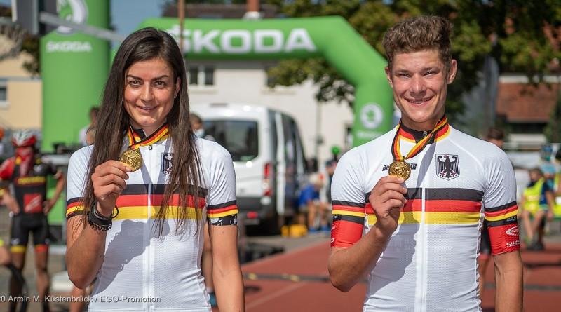 Deutsche marathon-Meister 2020: Nadine Rieder und David List