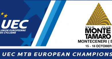 Europameisterschaft 2020 Monte Tamaro Logo