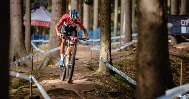 Die Cyclocross-Weltmeisterin fuhr bei ihrem erst vierten Mountainbike-Weltcup zum Sieg. Foto: Lynn Sigel.