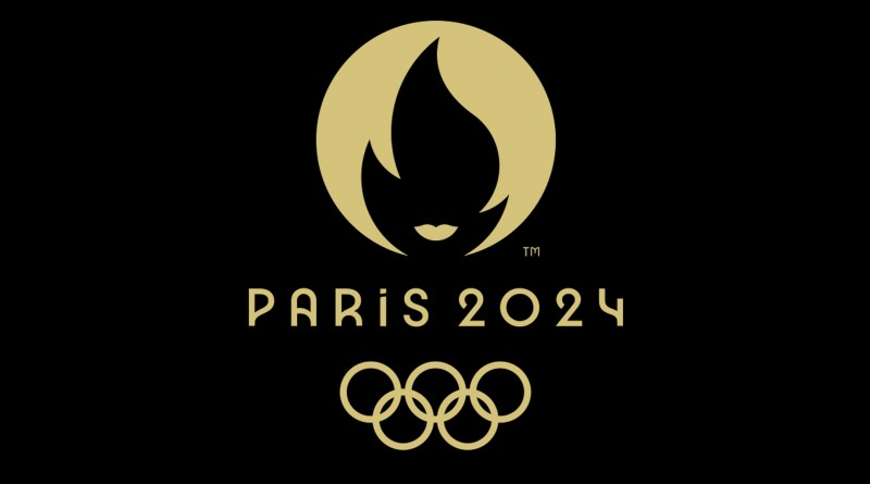 Logo Paris 2024 (dark)