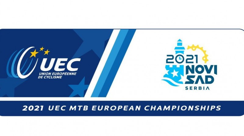 Logo Europameisterschaft Novi Sad / SRB 2021