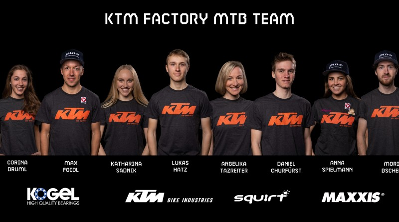 KTM Factory Mountain Bike Team 2021