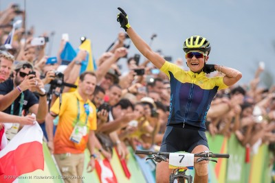 Jenny Rissveds, Olympiasiegerin 2016 in Rio de Janeiro © Armin M. Küstenbrück / EGO-Promotion